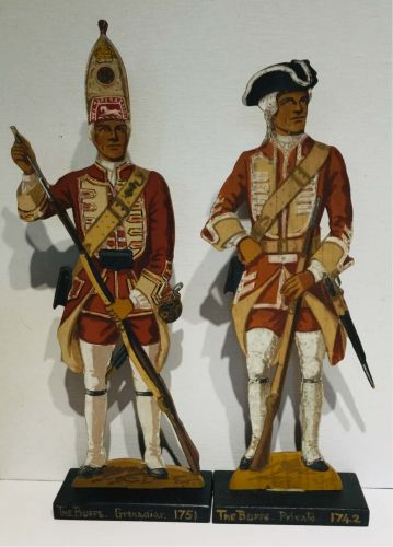 Hand Painted Military Figures.