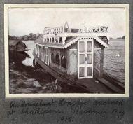Houseboats on Dal Lake, Kashmir 1912