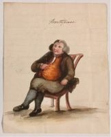 """Mr Everard's Picture 1804   """"When His Soul Was Open  Over The Second Bowl Of Rum And Water"""""""