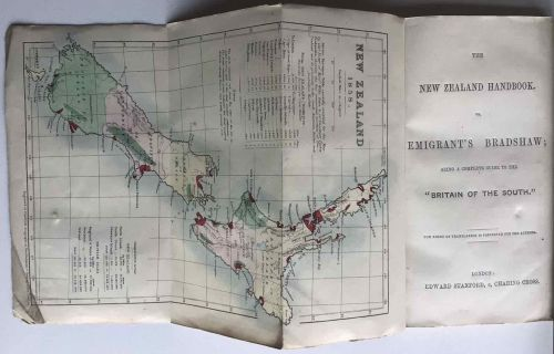 Rare Early Guide to New Zealand.