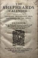 The Shepheard's Calender First Folio